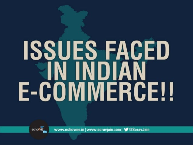 Issues in Indian e-Commerce