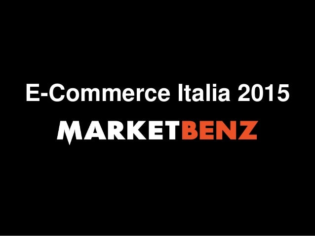 E-Commerce Italia 2015