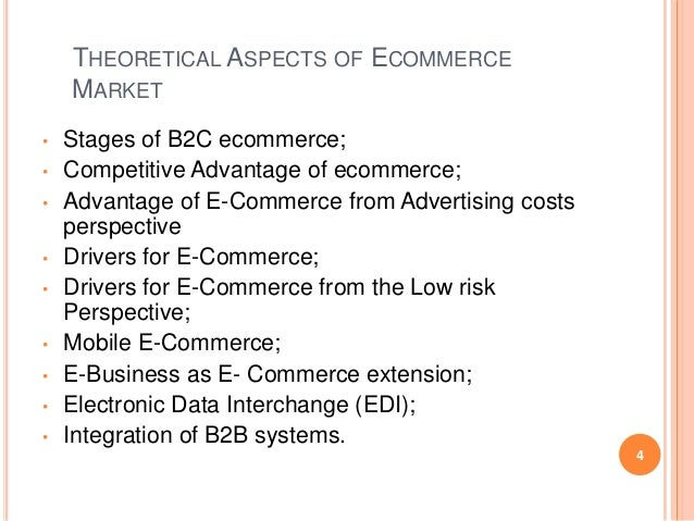 "e commerce research The first thing you will notice when you begin e-commerce research is that the  industry — like most others — has its own lingo [see ""the e-commerce jargon"" ."