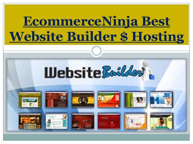 EcommerceNinja Best Website Builder $ Hosting