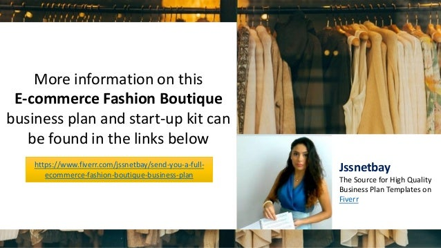 clothing e-commerce business plan