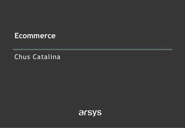 Chus Catalina Ecommerce