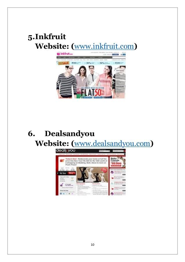 E-Commerce Research Paper Starter