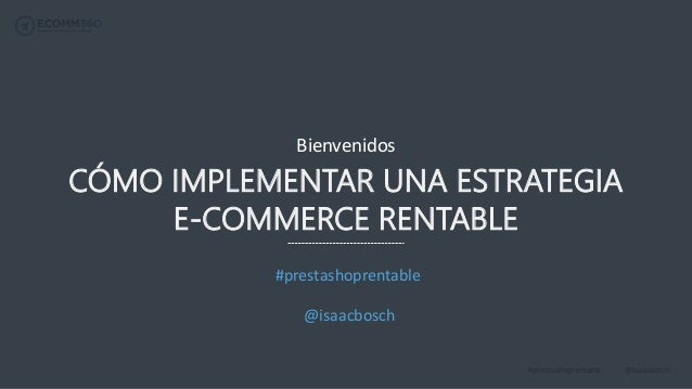 C mo implementar una estrategia e commerce rentable for Idee commerce rentable