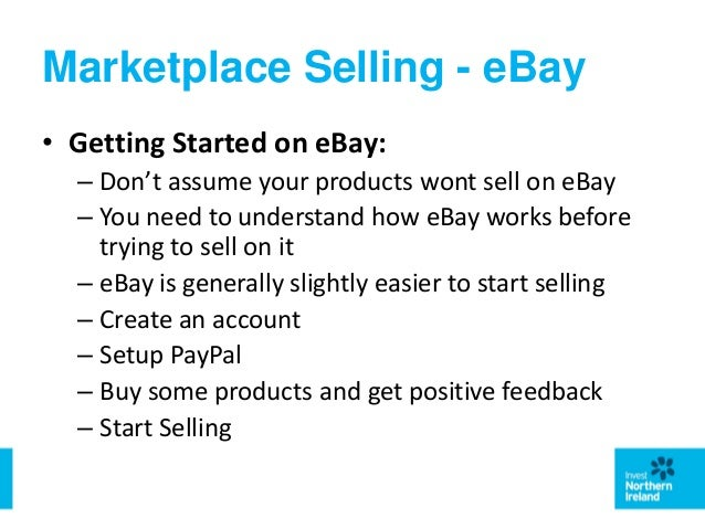 Introduction To Selling Your Products Online