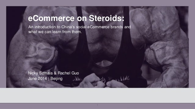 1 eCommerce on Steroids: An introduction to China's social eCommerce brands and what we can learn from them. Nicky Szmala ...