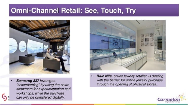 """Omni-Channel Retail: See, Touch, Try • Samsung 837 leverages """"showrooming"""" by using the entire showroom for experimentatio..."""