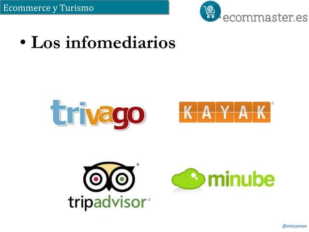 Ecommerce  y  Turismo  @micamon  • Los infomediarios