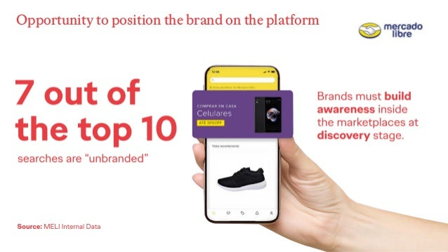 Opportunity to position the brand on the platform