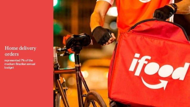 Home delivery orders represented 7% of the medium Brazilian annual budget