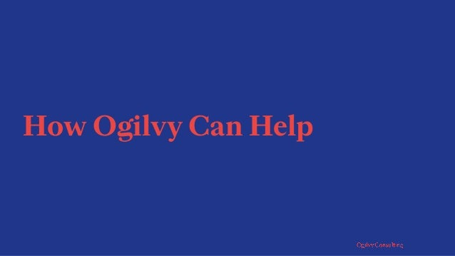 Our Commerce Offering Ed Kim Global Managing Partner Ogilvy Consulting Pierre Kremer Consulting Director Ogilvy Consulting...