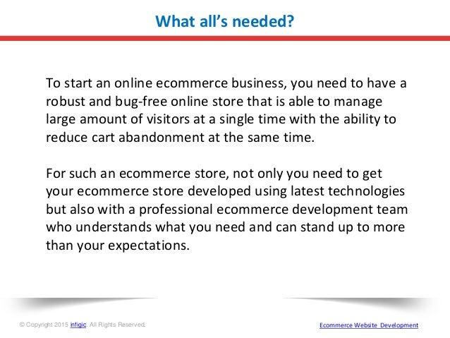 Ecommerce website development for you business Slide 2