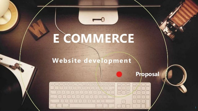 Proposal E COMMERCE Website development 1