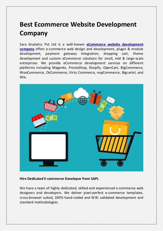Ecommerce Website Design and Development, Hire Ecommerce