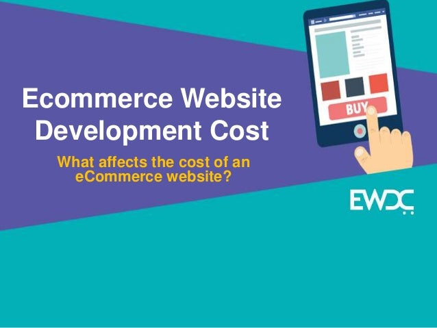 What affects the eCommerce Website Development Cost?
