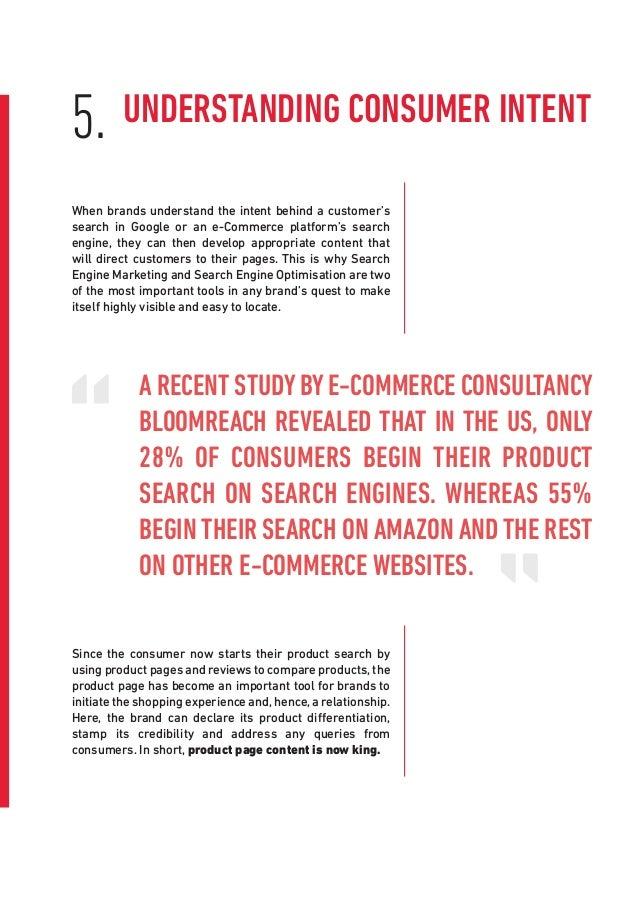 Since the consumer now starts their product search by using product pages and reviews to compare products, the product pag...