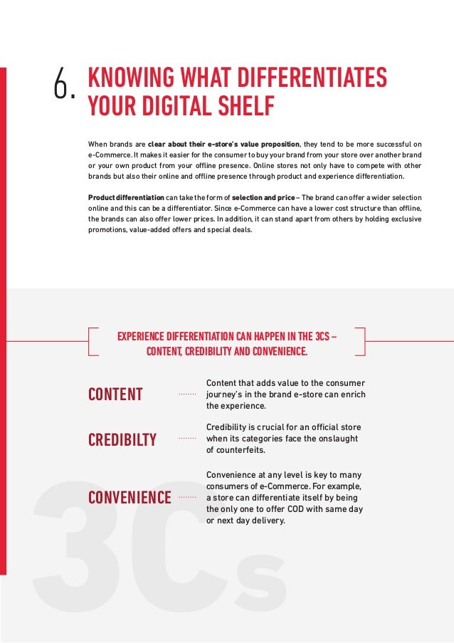 3Cs When brands are clear about their e-store's value proposition, they tend to be more successful on e-Commerce. It makes...