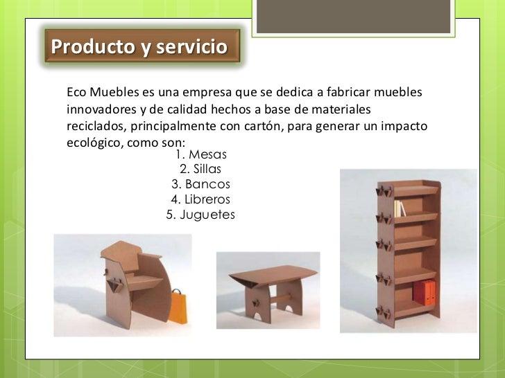 Ecomuebles - Empresas fabricantes de muebles ...