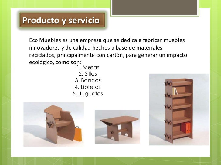 Ecomuebles for Empresas de muebles