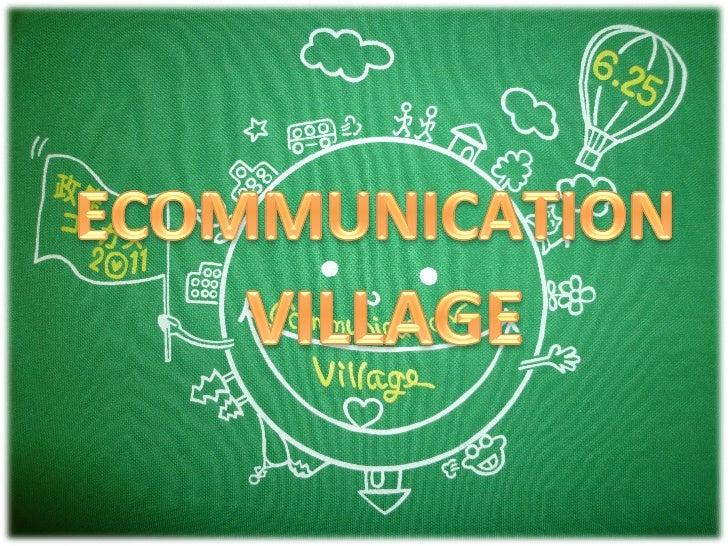 Communica)on    Eco