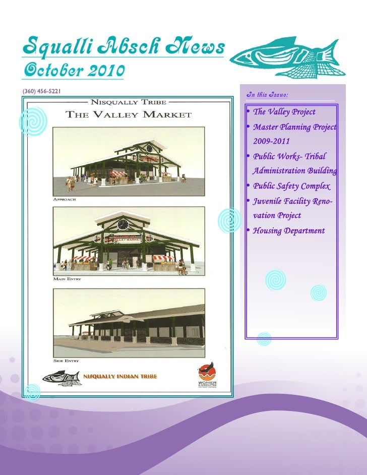 Squalli Absch News October 2010                      In this Issue: