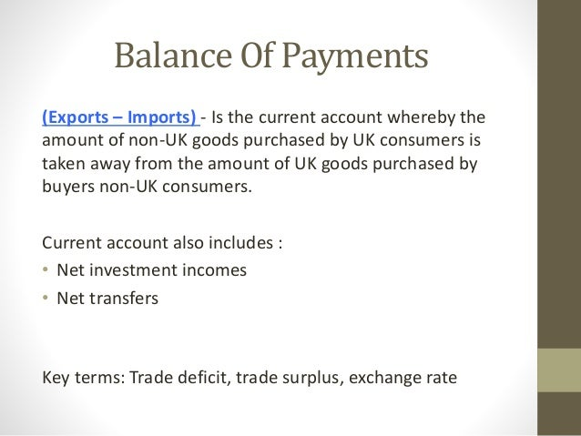 balance of payments deficit or surplus essay Short essay on the india's balance of payment nirav s the bop on current account indicate surplus/deficit in the balance of payments for the current year.