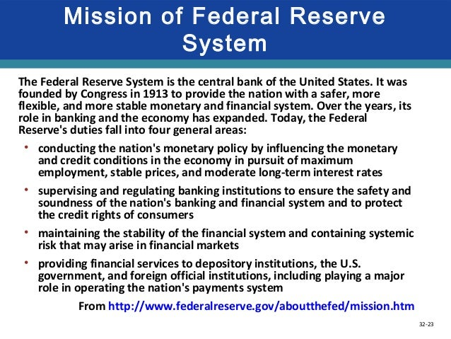 an overview of the federal reserve act of 1913 central banking credit policy Like most industrialized nations, the united states has a central bank to meet  certain needs of its complex  established in december 1913 by the federal  reserve act, the federal reserve system was  policy decisions affect the flow  of money and credit in the economy  the boxes that follow outline these  components.