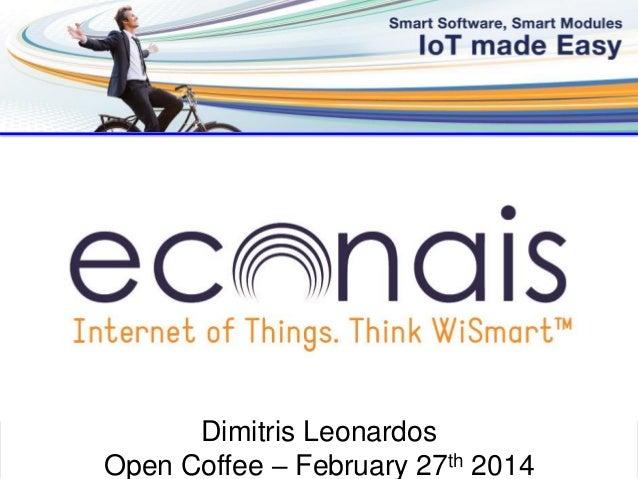 ©Econais 2014 -1- Dimitris Leonardos Open Coffee – February 27th 2014