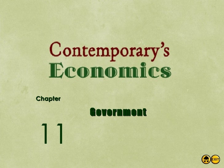 Chapter Government 11