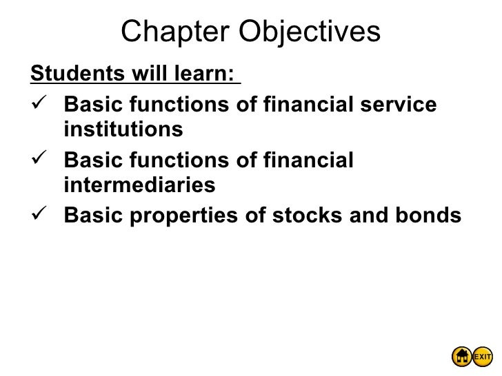 Econ Ch9 Financial Institutions