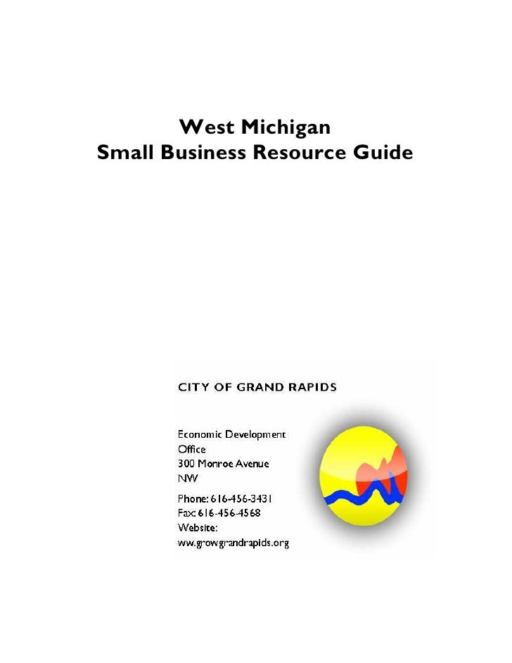 West Michigan Small Business Resource Guide
