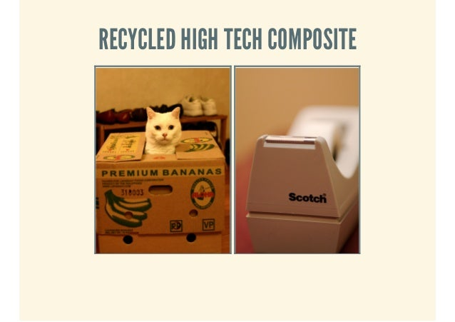 RECYCLED HIGH TECH COMPOSITE