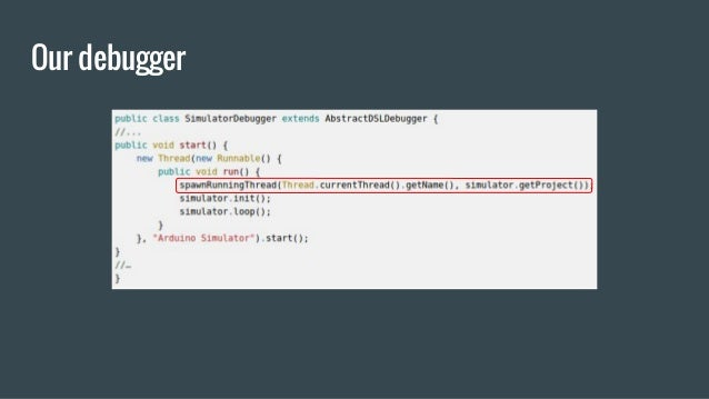 Our debugger