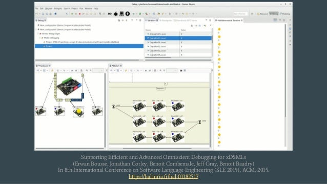 Supporting Efficient and Advanced Omniscient Debugging for xDSMLs (Erwan Bousse, Jonathan Corley, Benoit Combemale, Jeff G...
