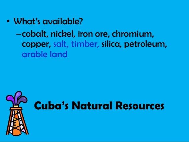 Econ of cuba, mex, brazil