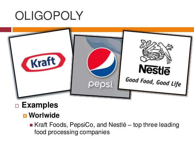 oligopoly and monopoly Oligopoly is the middle ground between monopoly and capitalism there are many oligopoly examples in today's society.