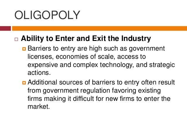 """conclusion about oligopoly Part vi provides a conclusion (vii) 2 we believe the expression was used for the  first time in r posner, """"oligopoly and the antitrust laws: a suggested."""