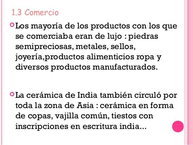 Econom a en india en los siglos xv y xvi - Productos de la india ...