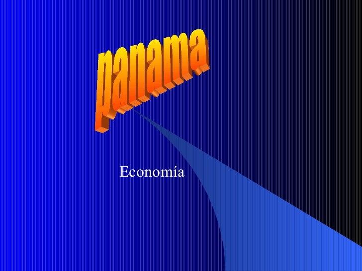 Economía  panama