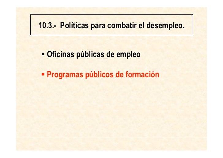 Economia desempleo - Oficina de desempleo ...