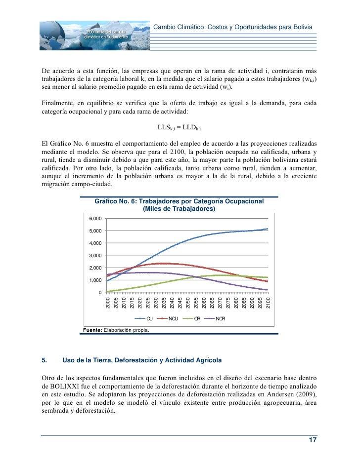 Cambio Climático: Costos y Oportunidades para BoliviaDe acuerdo a esta función, las empresas que operan en la rama de acti...