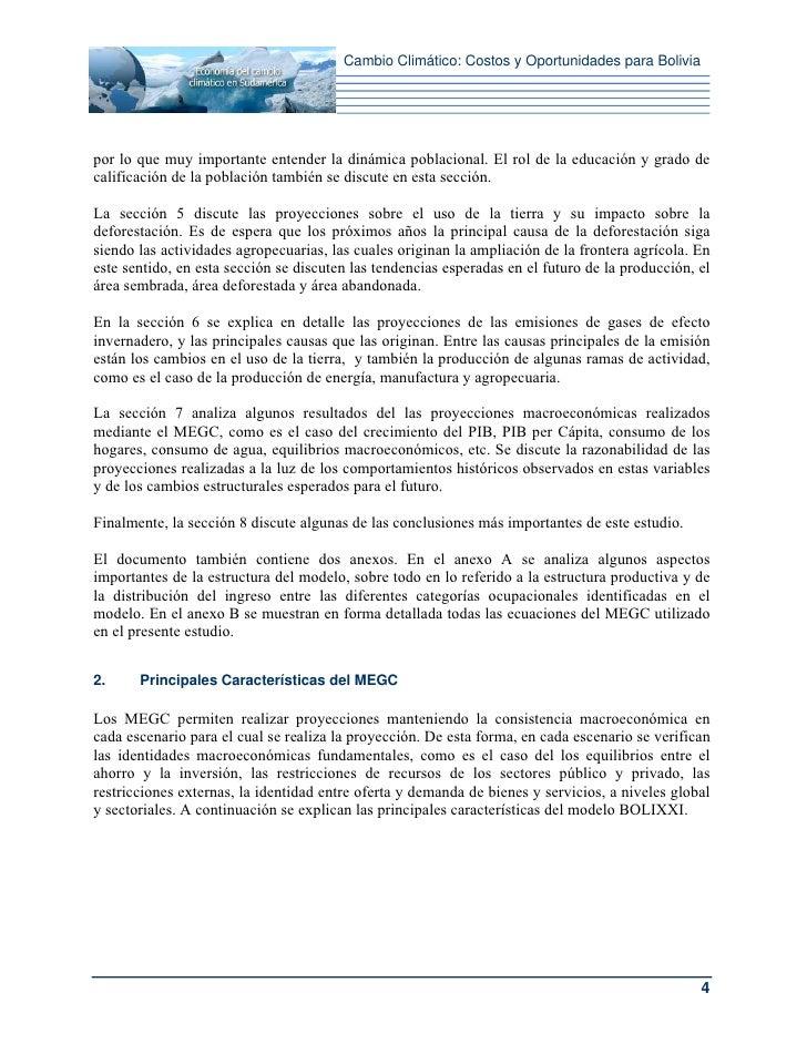 Cambio Climático: Costos y Oportunidades para Boliviapor lo que muy importante entender la dinámica poblacional. El rol de...