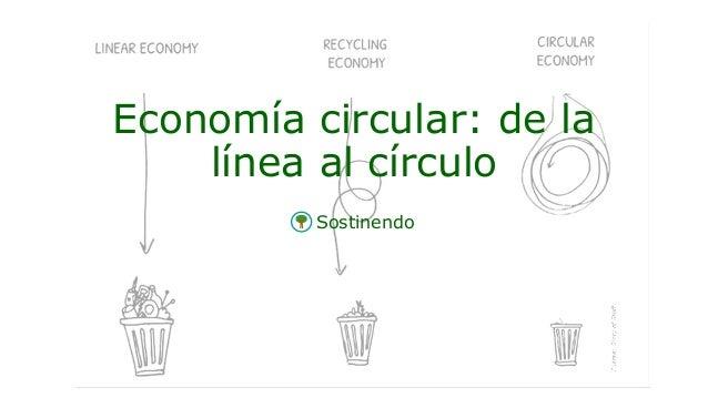 Sostinendo Economía circular: de la línea al círculo