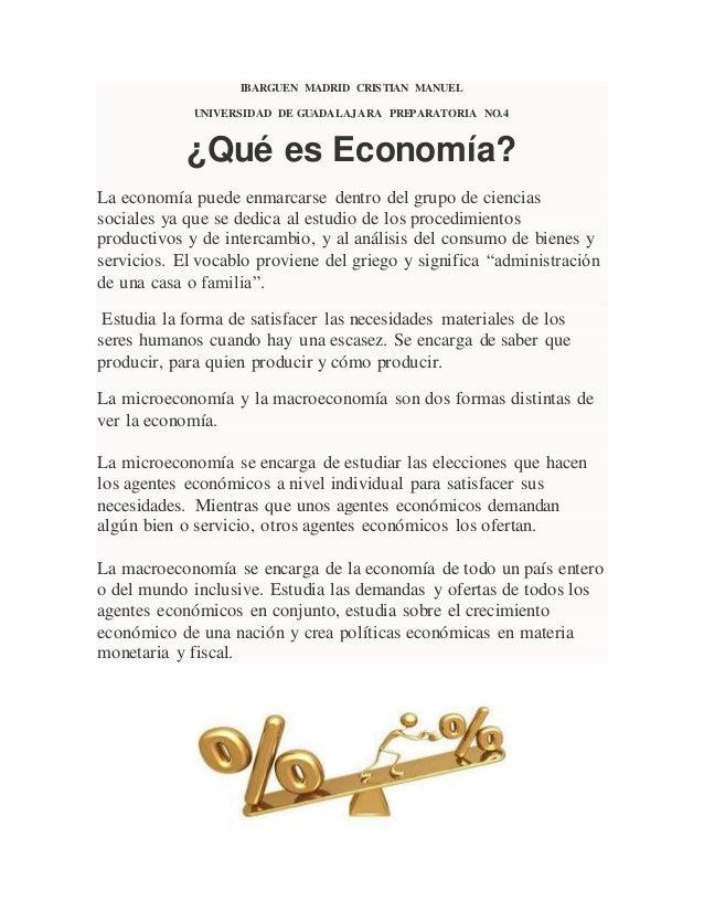 Economia concepto
