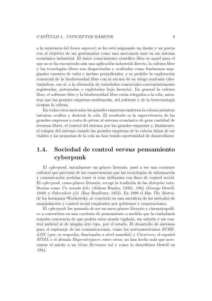 CAP´                   ´   ITULO 1. CONCEPTOS BASICOS                                                    9a la existencia ...