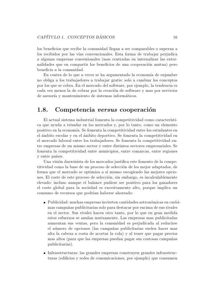 CAP´                   ´   ITULO 1. CONCEPTOS BASICOS                                              16los beneficios que rec...