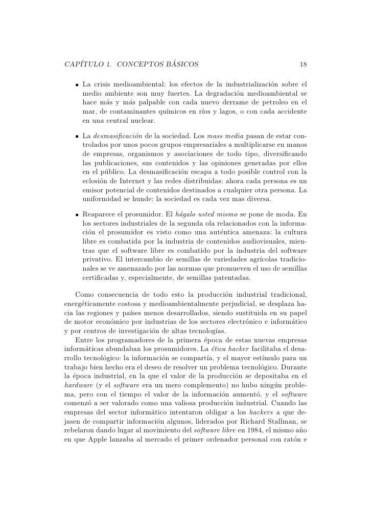CAP´                   ´   ITULO 1. CONCEPTOS BASICOS                                              18     La crisis medioa...
