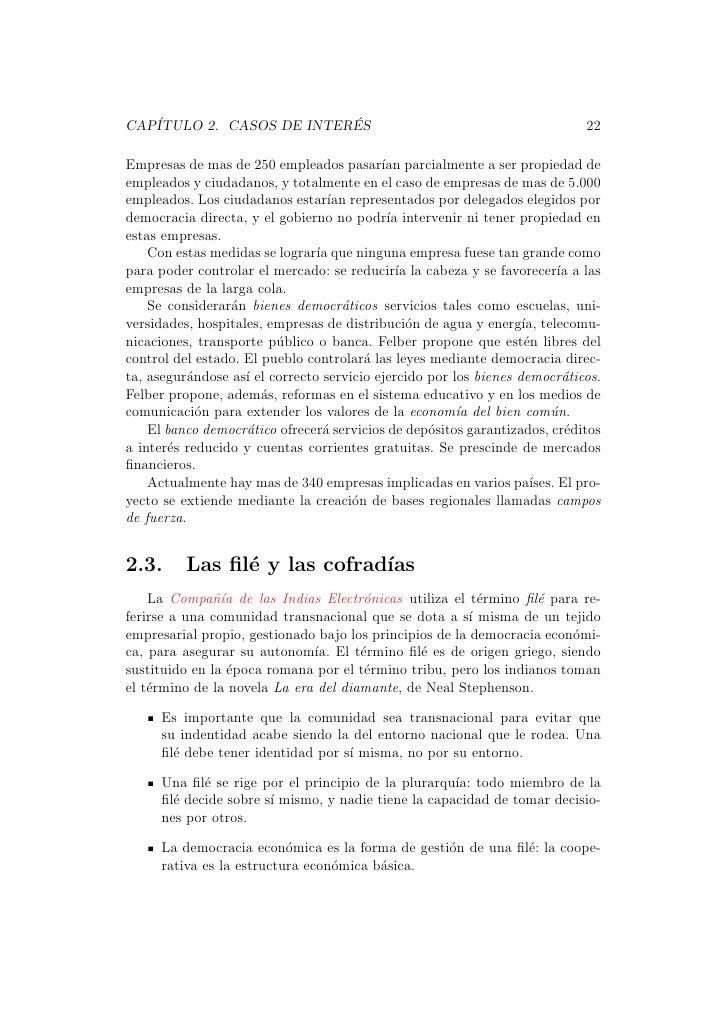 CAP´                      ´   ITULO 2. CASOS DE INTERES                                                   22Empresas de ma...