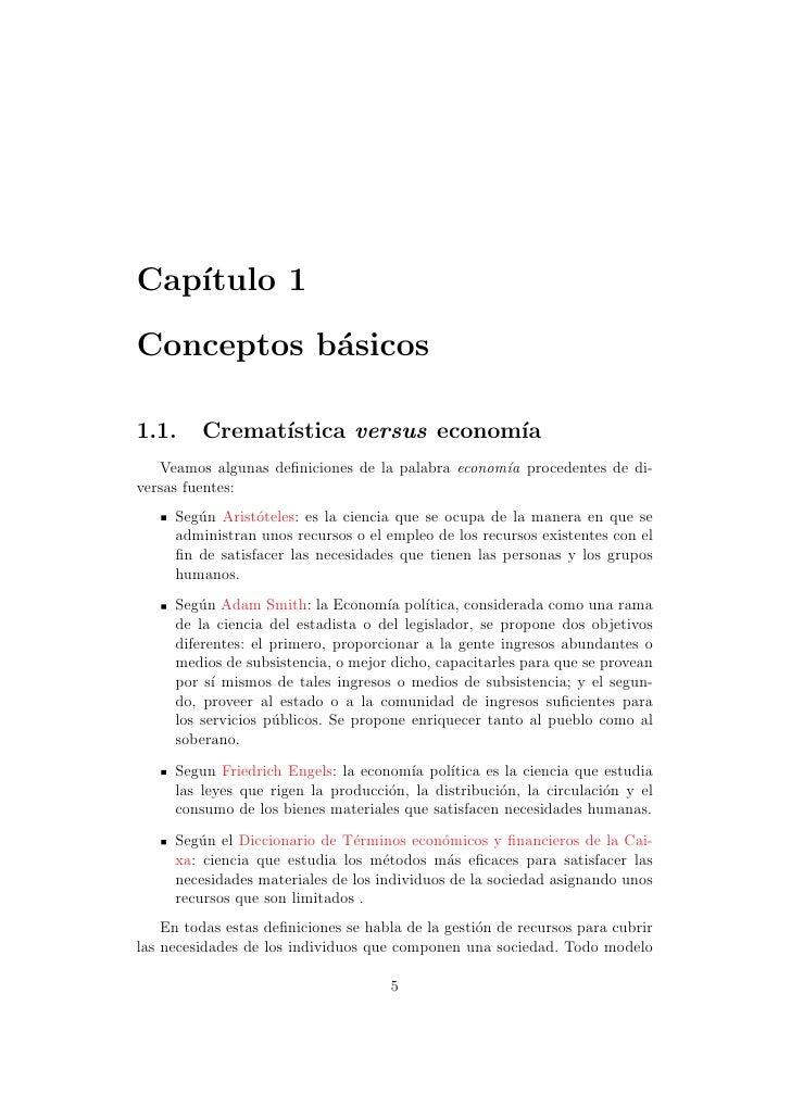 Cap´   ıtulo 1Conceptos b´sicos           a1.1.     Cremat´               ıstica versus econom´                           ...