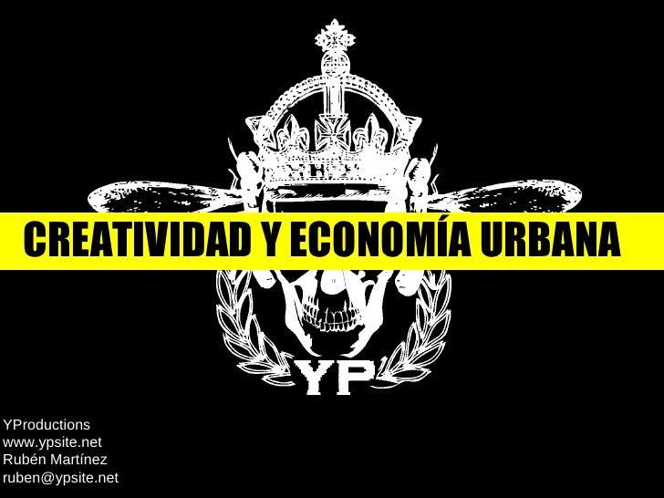 creatividad y economia urbana